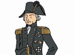 Admiral Nelson Portrait challenge