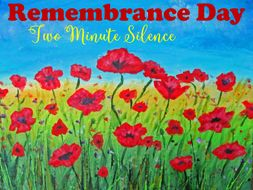 Remembrance Day Two Minute Silence PowerPoint FREE