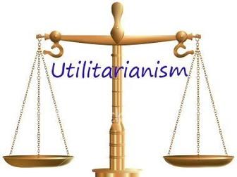 Utilitarianism (EdExcel A Level Religious Studies)