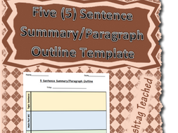 what is paragraph outline