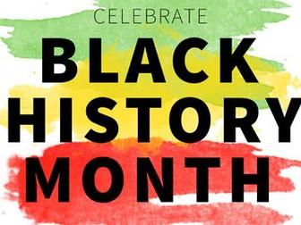 Black representation in cinema / media (Black History Month)