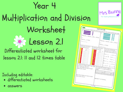multiplication and division   and  times table worksheets  multiplication and division   and  times table worksheets y by  mrssbunny  teaching resources  tes