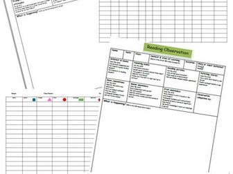 Observation and Assessment Pack (EYFS)