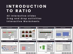 Introduction to Ratio - Year 6, Key stage 2, (US 5th grade)