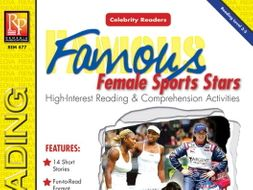 Celebrity Readers: Female Athletes