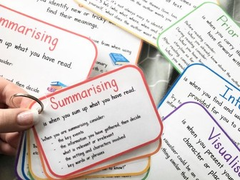 Active Literacy Six Reading Strategies