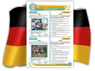 Häuser - German Speaking Activity