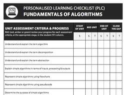 Fundamentals of Algorithms PLC - AQA Computer Science (2016 Spec)