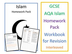 GCSE RS Study of Islam: Homework Pack / Workbook for Revision