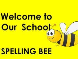Spelling Bee for Key Stage 2