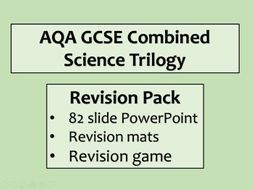 AQA GCSE Biology B2 Revision Pack - Combined Science - Paper 2