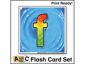 ESL Flash Cards-ABCs