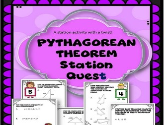 Pythagorean Theorem Station Quest