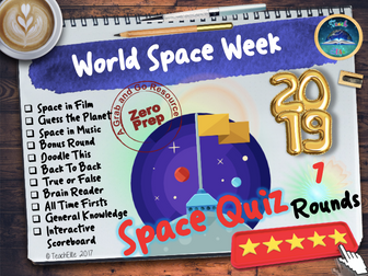 Space Week Quiz