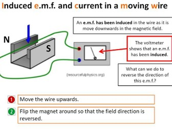 Electromagnetic Induction -  Bumper lesson pack