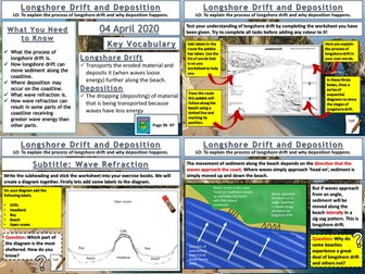 Coasts: Longshore Drift and Deposition