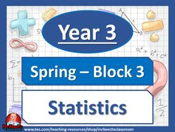 Year 3 Statistics Block 3 White Rose Maths