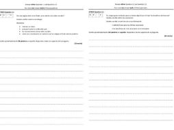 Spanish GCSE AQA Writing Paper Higher Tier Practice Papers with Model Answers