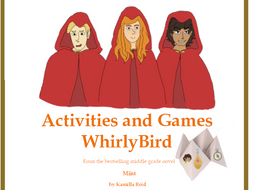 Whirly Bird activity inspired by the middle grade novel, Miist, by Kamilla Reid