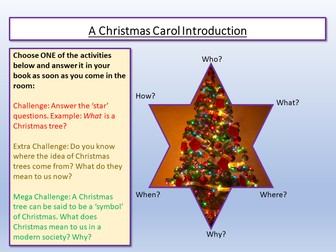 A Christmas Carol Lessons 1 - 7