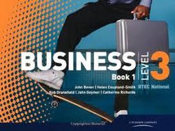 BTEC Business Studies Level 3 Unit 10 Market Research