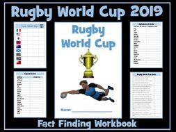 Rugby World Cup 2019 Workbook