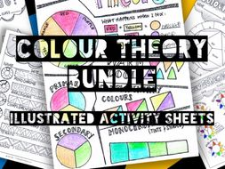 Colour Theory Bundle   Learning Sheets