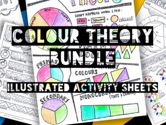 Colour Theory Bundle | Learning Sheets