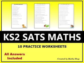Maths - KS2 SATS Practice Exam Questions
