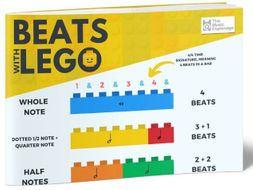 Music Beats with Lego - A3 POSTER