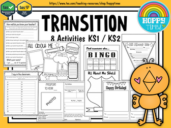 8 TRANSITION  ACTIVITIES New Class