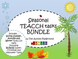 Season TEACCH Bundle - Independent Autism and SEND Activities
