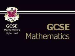 Mathematics GCSE Revision guide Foundation & Higher