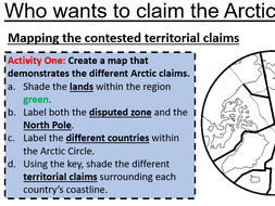 Claiming the Arctic