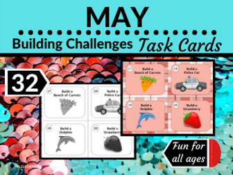 May Themed Building Challenges