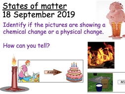 States of matter and Density practicals