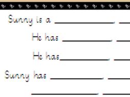 Describing Meerkat Mail Characters