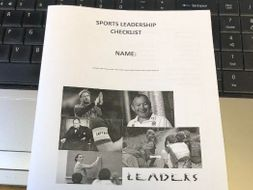 Cambridge Nationals Sport Studies - Sports Leadership (R053) Module Checklist
