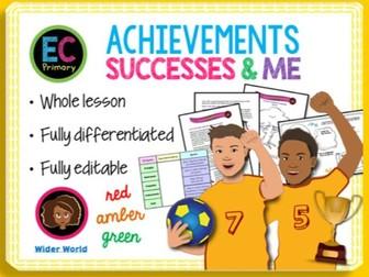 Celebrating success and achievement