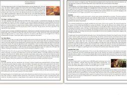 The Aztec Civilization - Reading Comprehension Worksheet / Text #GoogleExpeditions
