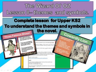 narrative report on the wizard of