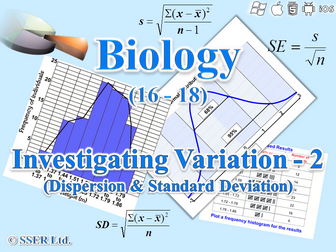 3.4.7.2 Statistics - Investigating Variation - 2 (Dispersion & Standard Deviation)
