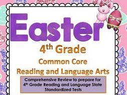 4th grade Reading Language Arts EASTER Review Egg Hunt