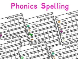 phonics spelling worksheets with pictures key stage 1 letters and sounds phonics by. Black Bedroom Furniture Sets. Home Design Ideas