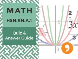 HSN.RN.A.1– Quiz and Answer Guide