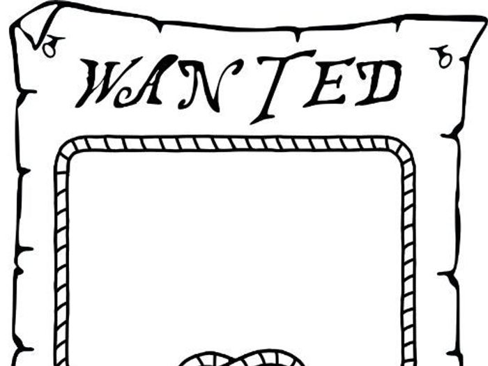 photograph regarding Printable Wanted Poster identify Pirate Preferred Poster Template