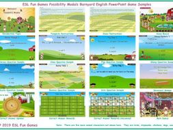 Possibility Modals Barnyard English PowerPoint Game