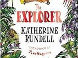 Year 5 Reading lessonPowerpoint to teach 'The Raft' chapter from The Explorer by Katherine Rundell