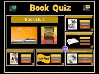 Book Quiz - 100 Questions