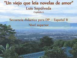 Secuencia didáctica sobre un trabajo literario (C.2) - DP - Español B - Nivel Superior